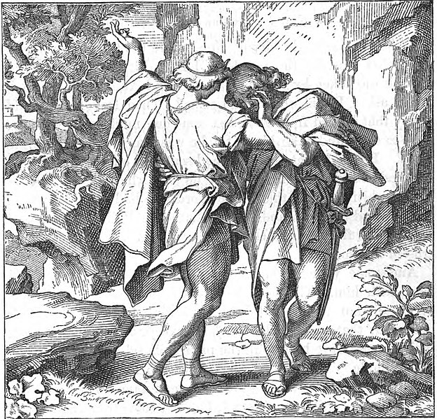 Fichier:The parting of David and Jonathan.jpg