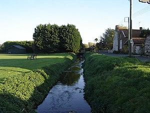 River Burn, Norfolk - The Burn at Burnham Thorpe