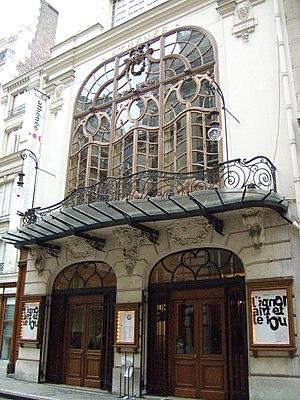 Théâtre de l'Athénée - Exterior of the Théâtre de l'Athénée