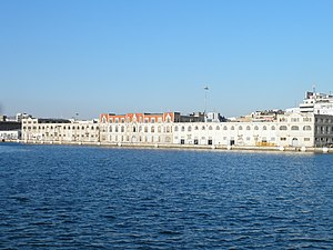 Port of Thessaloniki - The main building