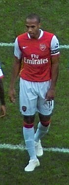 Henry was made captain following the departure of fellow Frenchman Patrick Vieira to Juventus in 2005.