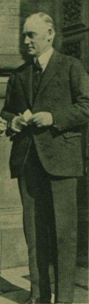 Thomas Henry Burn - Burn in 1921