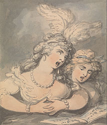 Thomas Rowlandson: The Opera Singers