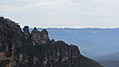 Three Sisters from Katoomba Skyway, Blue Mountains, New South Wales (483570) (9440487471).jpg