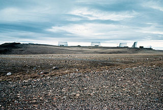 Thule Site J United States Air Force radar station in Greenland