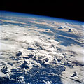 Thunderstorms over the Pacific seen from Earth orbit on STS-64.jpg
