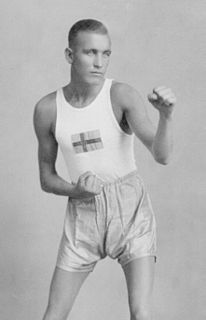 Thure Ahlqvist Swedish boxer