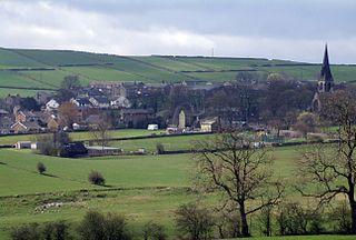 Thurstonland village in United Kingdom