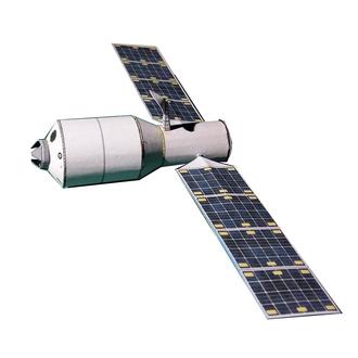 Tianzhou 1 - A 1:144 scale Tianzhou-1 model