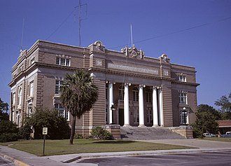 Tift County Courthouse - Tift County Courthouse in 1971, by Calvin Beale