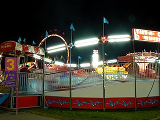 Traveling carnival travelling show