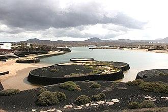 Tinajo (municipality) - Former desalination lagoon in Tinajo
