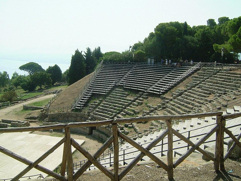 Tindari greek theatre 2
