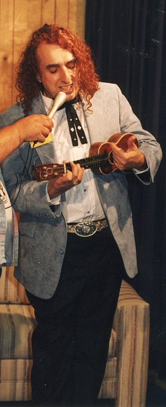Tiny Tim (musician) - Tiny Tim performing at an event in Tennessee in the late 1980's