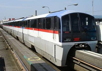 Tokyo Monorail - Image: Tokyo Monorail 2031 Showajima 20060521