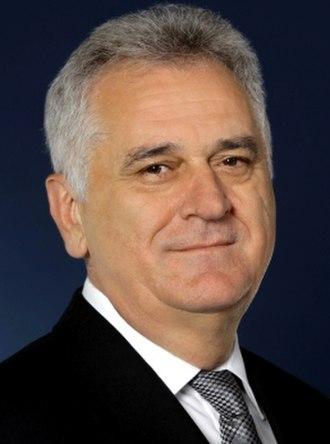 President of Serbia - Image: Tomislav Nikolić 2012