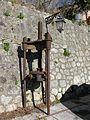 Torchio oleario a vite (Olive oil press) - Gallicianò - Condofuri (Reggio Calabria) - Italy - 17 Jan. 2015 - (2).jpg