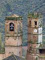 Torres del Tardón y de la Trinidad en la plaza mayor de Alcaraz.jpg