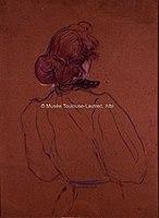 Toulouse-Lautrec - FEMME ROUSSE NU-TETE, 1891, MTL.139.jpg