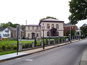 Touro Synagogue - Image: Touro Synagogue Newport Rhode Island 2