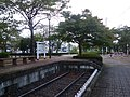 Toya Nogijinjamae Station monument(Japan,Tochigi).jpg