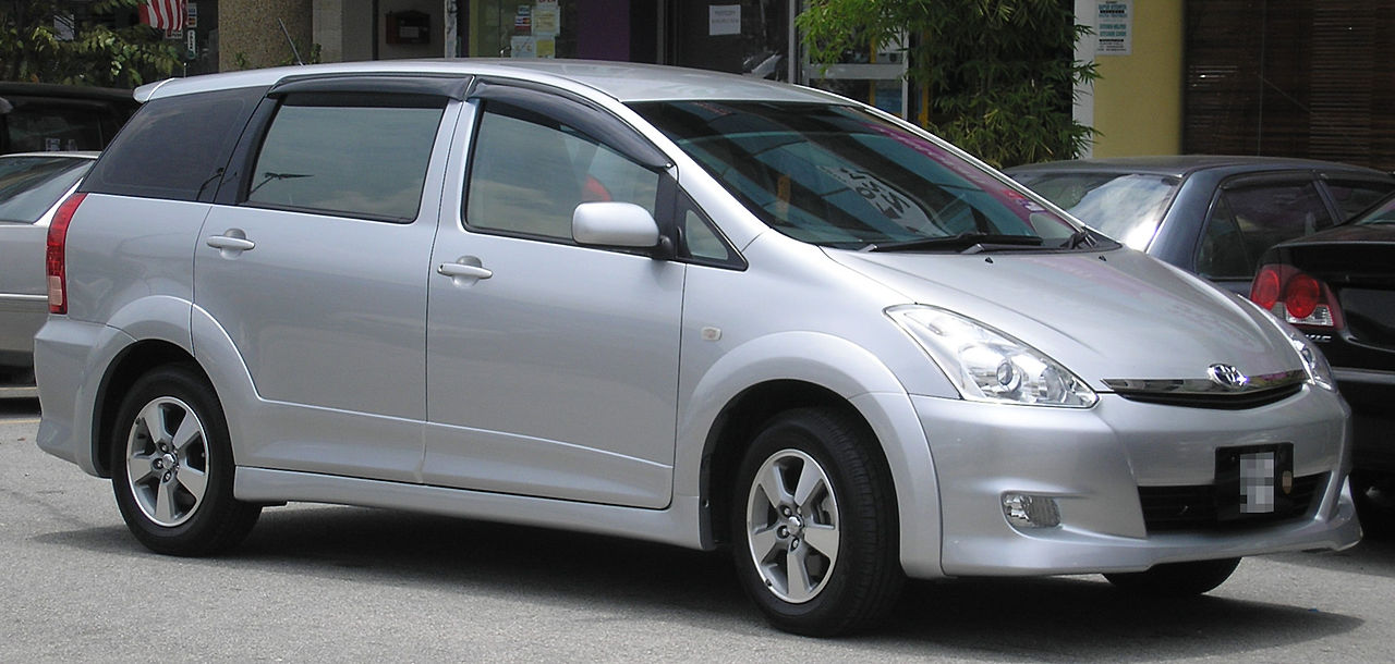 File Toyota Wish First Generation First Facelift Front