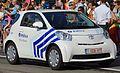 Toyota iQ de la police locale de Mons - Quévy.jpg