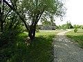 Trail leading to Bohemier House, St. Norbert Provincial Park, Manitoba.jpg