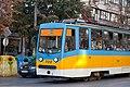Tram in Sofia near Macedonia place 2012 PD 098.jpg