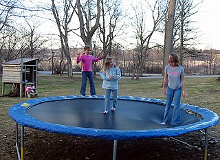 Trampoline Fun For Family