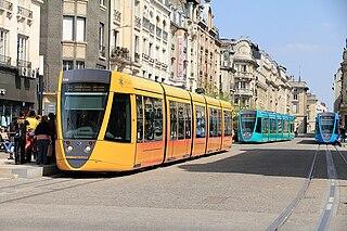 Reims tramway