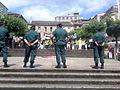 Tranquila praza - O Carballiño - Festa do Polbo 2007 - Manifestación contra o Parque de Xestión de Merda.jpg