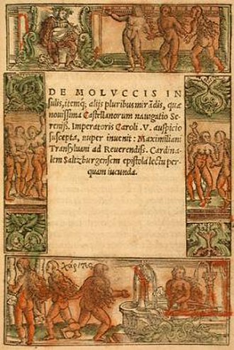 Maximilianus Transylvanus - The first edition of Transylvanus' account