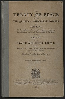 how did the treaty of versailles affect germany