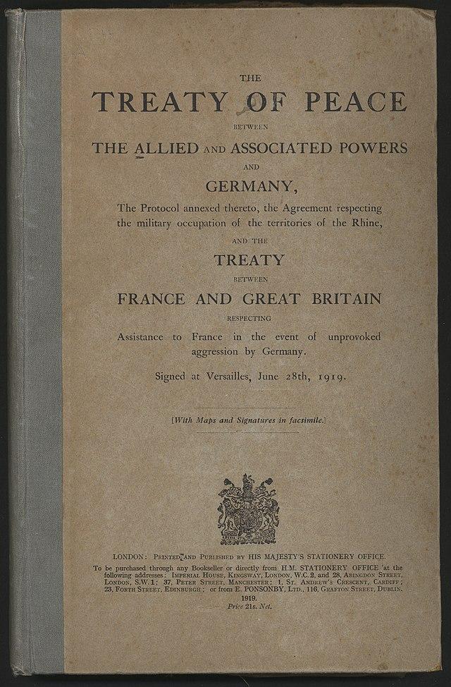 Treaty of Versailles - Wikiwand