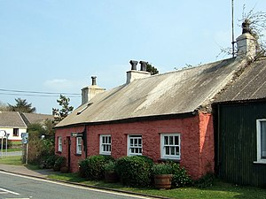Grouted roof - Trefeigan Cottage, Pembrokeshire