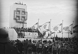 Austrofascism - Fatherland Front rally, 1936