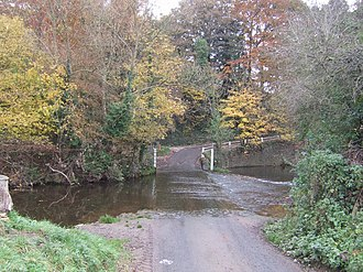 Neen Savage - Image: Tricky ford geograph.org.uk 602342