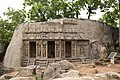 Triple-celled rock-cut shrine with Gopi's Churn in front of it-1.jpg