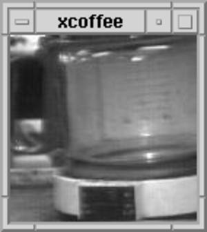 Trojan Room coffee pot - The coffee pot, as displayed in XCoffee