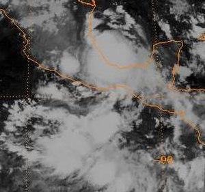 1994 Atlantic hurricane season - Image: Tropical Depression Five (1994)