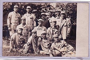 Troy Trojans (MLB team) - Troy Trojans baseball team, date unknown