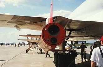 Kh-22 - Kh-22 under a Tu-22M3