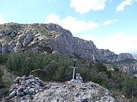 Turó del Tron de l'Espasa, Muntanyes de Montserrat (maig 2013) - panoramio.jpg