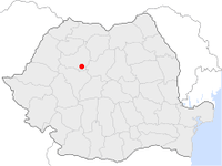 Location of Turda