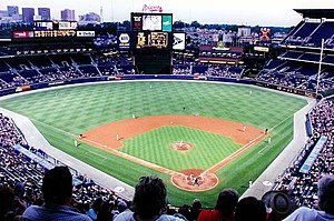 Turner Field, Atlanta, 2001, by Rick Dikeman 1...