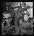 Tuskegee airmen attending a briefing.tif