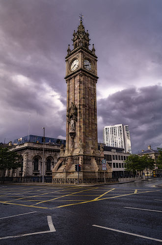 Albert Memorial Clock, Belfast - Albert Clock, 2016