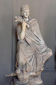 Antakya'nın iyilik tanrıçası Tyche, Vatikan  Müzeleri