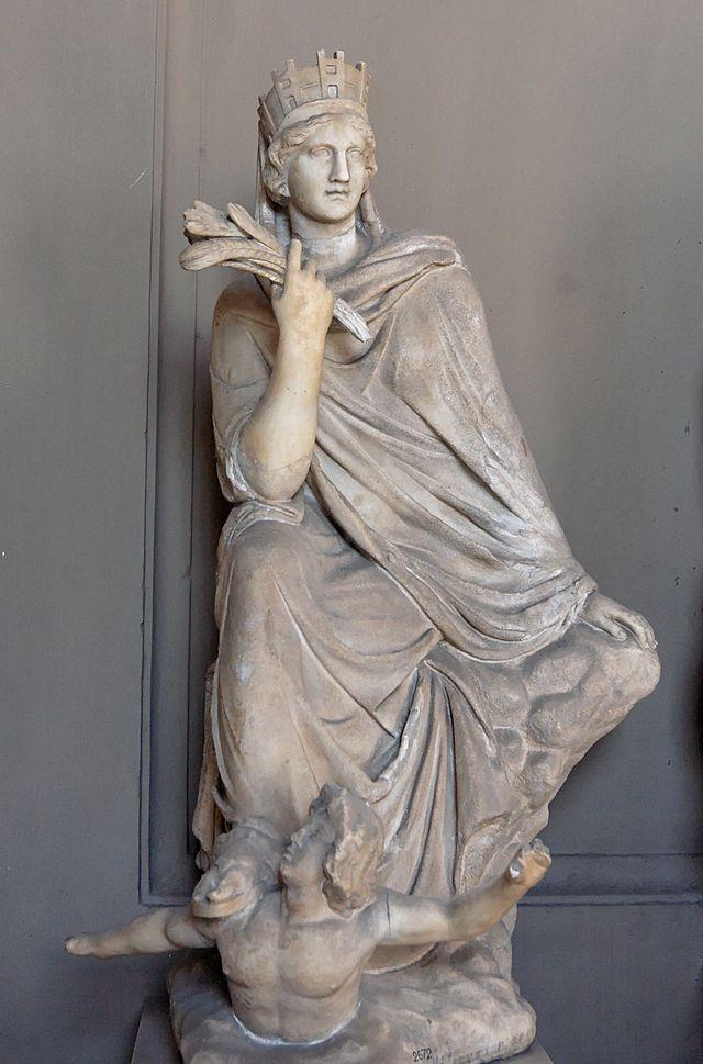 Tyché, la déesse de la fortune 640px-Tyche_Antioch_Vatican_Inv2672
